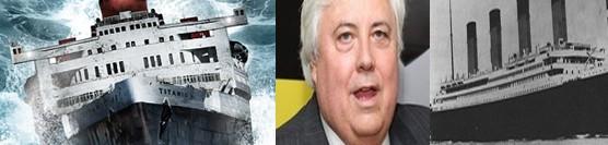 Miliardár chce postaviť nový Titanic