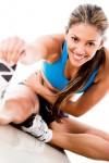 cvičenie training žena šport