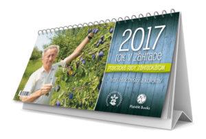 Ivan Hričovský, Boris Horák: Kalendár Rok v záhrade 2017, Plat4M Books, 2016